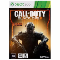 Call Of Duty Black Ops 3 Xbox 360 Mídia Dvd Original Lacrado