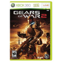 Jogo Gears Of War 2 Para Xbox 360 (x360)