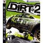 Jogo Novo Lacrado Dirt 2 Para Playstation 3 Ps3