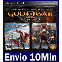 God Of War Collection Ps3 Psn - Gow 1 E 2 Hd