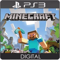 Minecraft Ps3 Play3 Psn Midia Digital Legendado