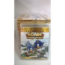 Sonic Generations (favoritos) Ps3 Novo E Lacrado Rcr Games