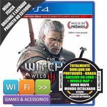 The Witcher 3 Wild Hunt Ps4 Em Português Nacional