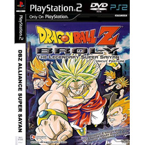 Dragon Ball Z Super Saiyan - Playstation 2 - Frete Gratis.