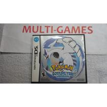 Pokémon Soul Silver Original Americano Para Nds - Ndsi - 3ds