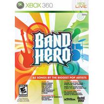 Band Hero Jogo Xbox360 Usado