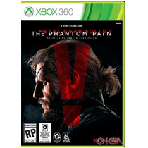 Novo Jogo Metal Gear The Phantom Pain Xbox 360 Original