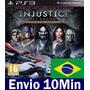 Injustice Gods Among Us Ultimate Edition Ps3 Código Psn