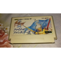Final Fantasy 3 100% Original Nintendo Famicom Nes 60pinos