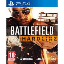 Battlefield Hardline Português Br Primária Ps4 Psn