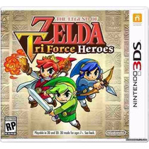 The Legend Of Zelda Tri-force Heroes 3ds - Pronta Entrega!