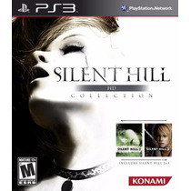 Silent Hill Hd Collection Ps3 Original Mídia Física Lacrado