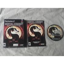 Mortal Kombat Deception Jogo Ps2 - Original Ntsc