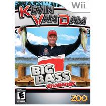 Jogo Pesca Kevin Van Dam Big Bass Challange Lacrado F.gratis
