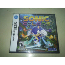 Sonic Colors - Novo - Lacrado - Original
