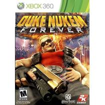 Jogo Duke Nukem Forever Ntsc Original Xbox 360 Menor Preço