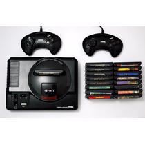 Super Pack Mega Drive Todos Os Jogos + Emulador