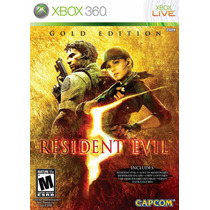 Resident Evil 5 Gold Edition Xbox 360 Versão Brasil