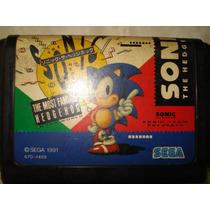 Sonic The Hedgehog - Original Japonês - Mega Drive