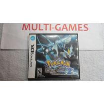 Pokémon Black 2 Original Americano Para Nds - Ndsi - 3ds