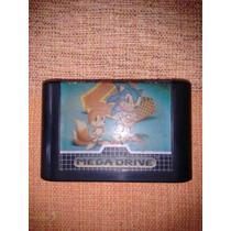 Fita/cartucho P/ Mega Drive The Hedgehog 2 - Original!!!