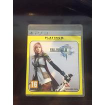 Jogo Ps3 - Final Fantasy Xiii 13 Mídia Física - Frete Barato