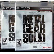 Metal Gear Solid, The Legacy Collection Lacrado/novo Ps3