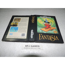 Fantasia Original Completa P/ Mega Drive - Loja Centro Rj