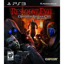 Resident Evil Operation Raccoon City Ps3 Pronta Entrega