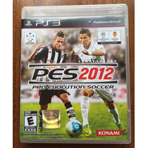 Pes 2012 Pro Evolution Soccer - Ps3 - En