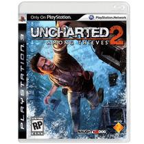 Jogo Uncharted 2: Among Thieves Para Playstation 3 (ps3)