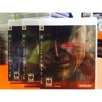 Jogo Metal Gear Solid 4 Playstation 3, Fisico, Original