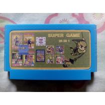 Batman Nes + 24 Jogos Nintendinho Famicom Fc Polystation