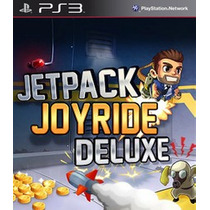Jet Pack Joyride De Luxe Ps3 Psn