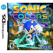 Sonic Colors - Nintendo Ds - Lacrado - Original