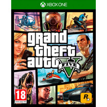 Gta 5 Grand Theft Auto V Xbox One Original Midia Fisica C/nf