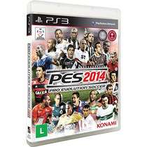 Pes 2014 - Pro Evolution Soccer 14 - Ps3 - Original Lacrado