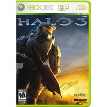 Jogo Halo 3 Lacrado Xbox 360 + 48 Horas Trial Xbox Live
