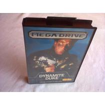 Cartucho Mega Drive Dinamite Duke