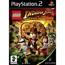 Jogos Ps2 - Lego Indiana Jones - The Original Adventures