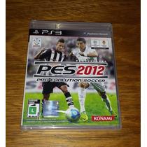 Pes 2012 - Pro Evolution Soccer 12 Novo Playstation 3 Ps3