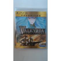 Valkyria Chronicles - Ps3 Mídia Física Lacrado Novo Favorito