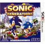 Jogo Sonic Generations 3ds Midia Fisica Lacrado P Entrega