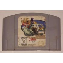 Cartucho Nintendo 64 - Clay Fighter 63 1/3 - Orginal