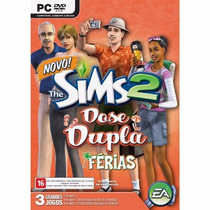 The Sims 2 - Dose Dupla Férias - Para Pc - Original