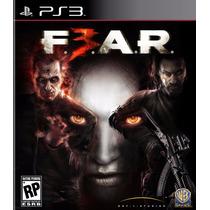 Jogo Ps3 Fear 3 Original E Lacrado Mídia Física