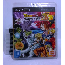 Dragon Ball Z Battle Of Z Ps3 Nacional, Lacrado Rcr Games
