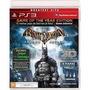 Batman Arkham Asylum Goty Jogo Ps3 Original Lacrado
