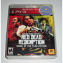 Red Dead Redemption Game Of The Year Edition Ps3 | Original