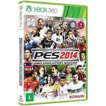 Pes 2014 - Pro Evolution Soccer 14 Xbox 360 Original Lacrado